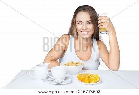 Breakfast cereals healthy breakfast breakfast food eating breakfast smiling eating