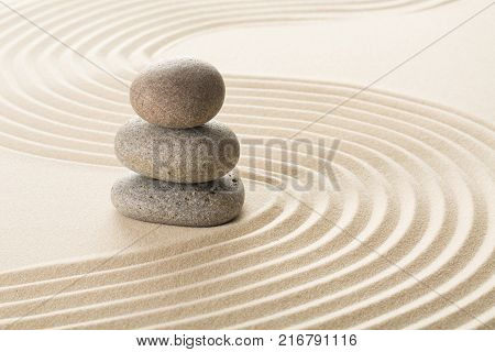 Sand stones zen yellow background simplicity scene