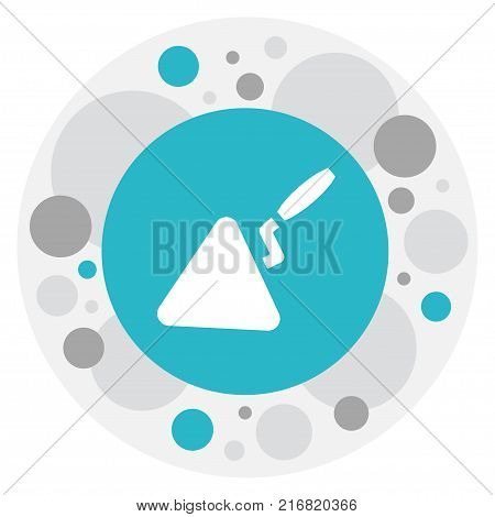 Vector Illustration Of Instrument Symbol On Trowel Icon