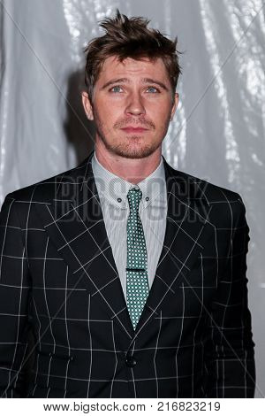 NEW YORK, NY - NOVEMBER 27: Garrett Hedlund attends the 2017 IFP Gotham Awards at Cipriani Wall Street.