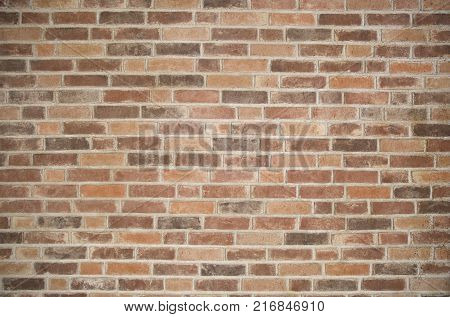 Vintage brick wall texture for a grunge background