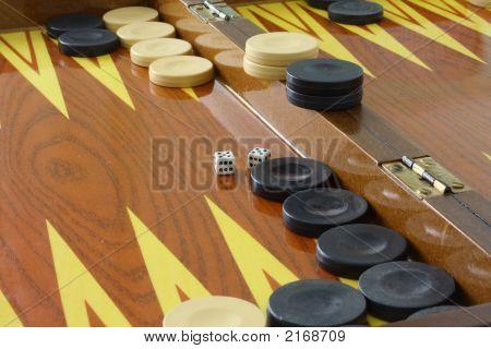 Brown Backgammon