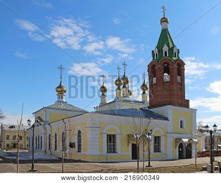 View of the Cathedral of the Holy Ascension. Murom Russia.