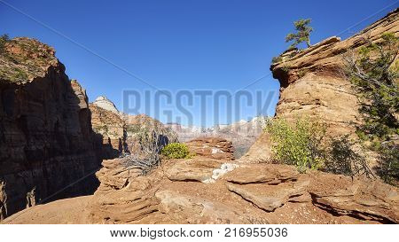 Coastline Along The Pacific Coast Highway, Usa