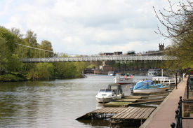 River Dee In Chester