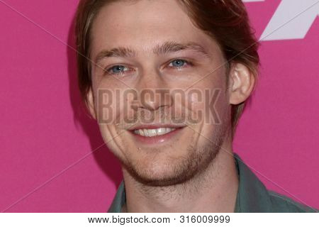 LOS ANGELES - AUG 6:  Joe Alwyn at the FX Networks Starwalk at Summer 2019 TCA at the Beverly Hilton Hotel on August 6, 2019 in Beverly Hills, CA