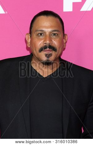 LOS ANGELES - AUG 6:  Emilio Rivera at the FX Networks Starwalk at Summer 2019 TCA at the Beverly Hilton Hotel on August 6, 2019 in Beverly Hills, CA