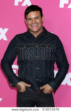 LOS ANGELES - AUG 6:  Elgin James at the FX Networks Starwalk at Summer 2019 TCA at the Beverly Hilton Hotel on August 6, 2019 in Beverly Hills, CA
