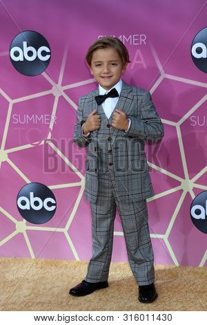 LOS ANGELES - AUG 15:  Jeremy Maguire at the ABC Summer TCA All-Star Party at the SOHO House on August 15, 2019 in West Hollywood, CA