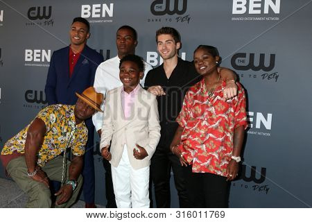 LOS ANGELES - AUG 4:  Taye Diggs, Michael Evans Behling, Daniel Ezra, Jalyn Hall, Cody Christian, Bre-Z at the  CW Summer TCA Party at the Beverly Hilton Hotel on August 4, 2019 in Beverly Hills, CA