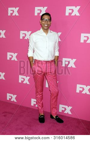LOS ANGELES - AUG 6:  Steven Canals at the FX Networks Starwalk at Summer 2019 TCA at the Beverly Hilton Hotel on August 6, 2019 in Beverly Hills, CA
