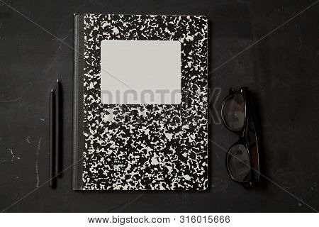 Reading, Storytelling And Education. Concept For Writing, Writer And Fiction. Notebook And Accessori