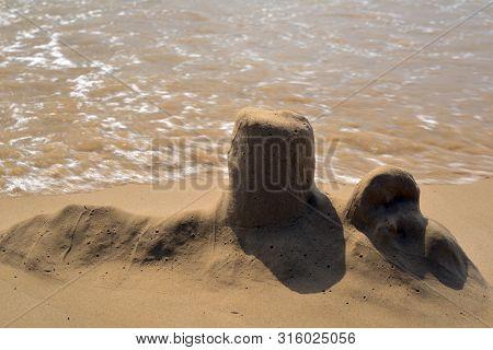 Sand Castles,  Abandonment, Collapse, Dissolved, Broken Dreams