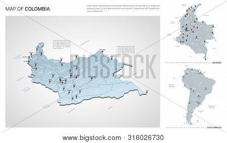 Vector Set Colombia Vector & Photo (Free Trial) | Bigstock