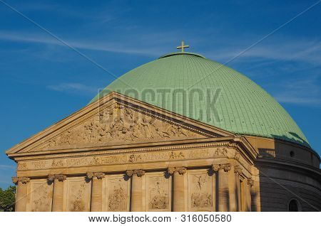St Hedwigs Kathedrale Catholic Cathedral In Bebelplatz In Berlin, Germany