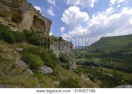 Cave City Of Kachi-kalon In Crimea Near Bakhchisarai