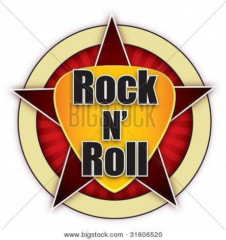 Rock N  Roll Logo