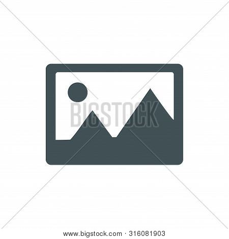 Gallery Icon Isolated On White Background From Miscellaneous Collection. Gallery Icon Trendy And Mod