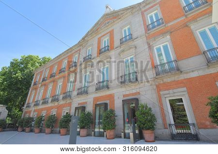 Madrid Spain - May 28, 2019: National Museum Of Thyssen Bornemisza