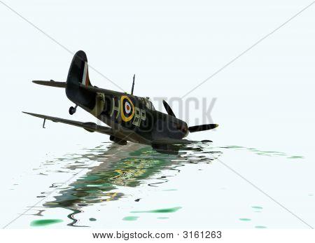 Spitfire Crash Landing Image & Photo (Free Trial) | Bigstock