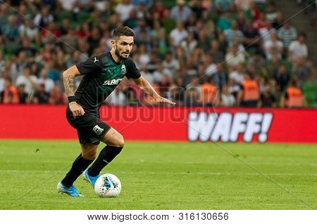 Krasnodar, Russia - August 7, 2019: Remy Cabella Of Fc Krasnodar In Action During The Uefa Champions