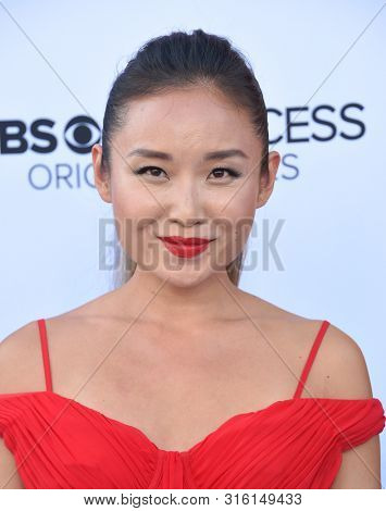 LOS ANGELES - AUG 07:  Li Jun Li arrives for the CBS AllAccess 'Why Women Kill' Premiere Screening on August 07, 2019 in Beverly Hills, CA