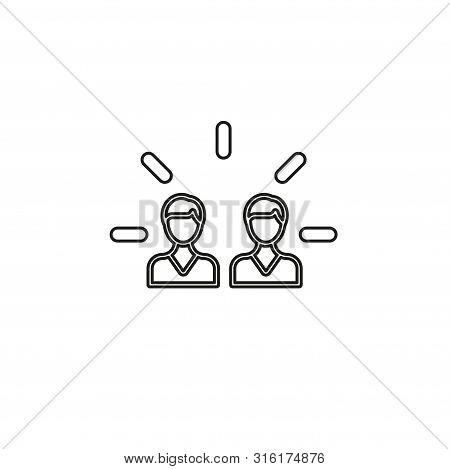 Brand Engagement Icon. Simple Element Illustration. Brand Engagement Symbol Design From Social Media