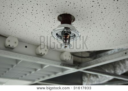 Installation Of A Fire Sprinkler