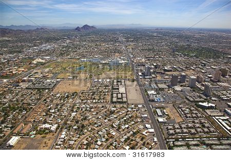 Central Phoenix Looking East