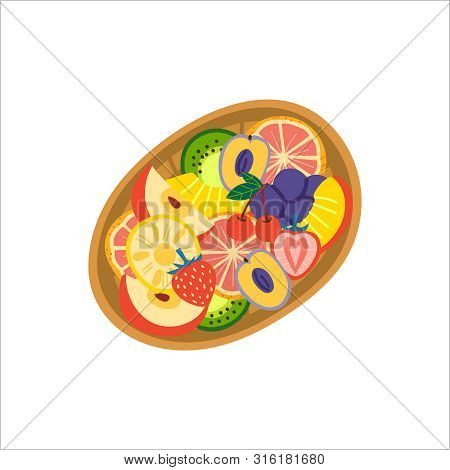 fruit basket top view vector photo free trial bigstock bigstock