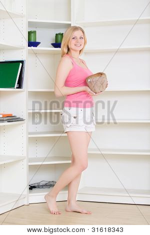 Blond at Homework