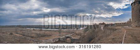 Bridge Over The Dniester River In Bender, Moldova
