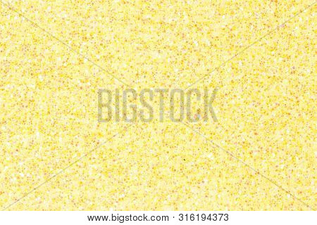 Light Yellow Ethylene Vinyl Acetate Eva With Glitter.