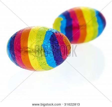 Rainbow Objects: Easter Eggs