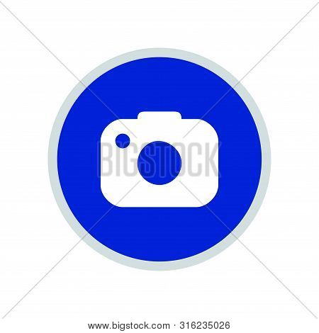 Camera Icon, Photo Camera Icon Round, Photo Camera Icon Circle, Camera Icon Jpg, Camera Icon Picture