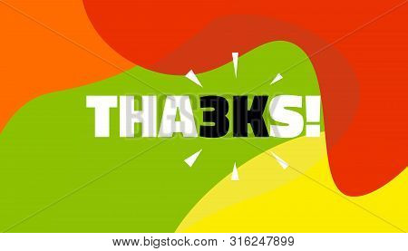 Social Media Banner With Thanks 3k Followers Achievement. Thank You For 3000 Thousand Subscribers De