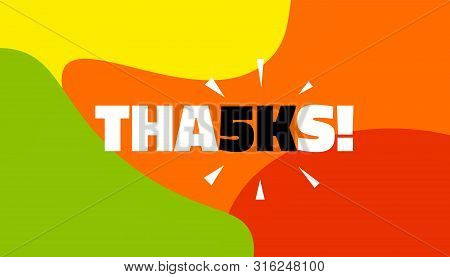 Social Media Banner With Thanks 5k Followers Achievement. Thank You For 5000 Thousand Subscribers De