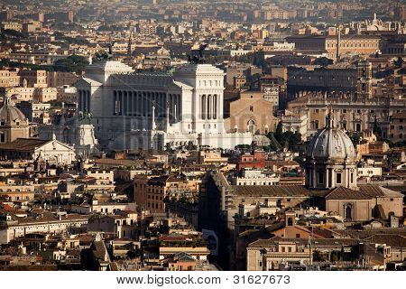 Il Vittoriale From St Peters