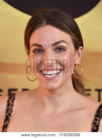 LOS ANGELES - JUL 23:  Rebekah Graf arrives for the 'Serengeti' Special Screening on July 23, 2019 in Beverly Hills, CA