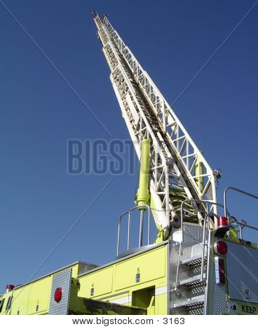 Fire Truck - Aerial 01