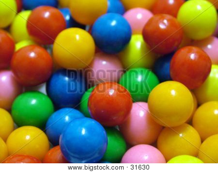 Colored Gumballs
