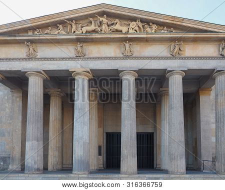 Neue Wache (meaning New Guardhouse) Central Memorial Of The Federal Republic Of Germany For The Vict