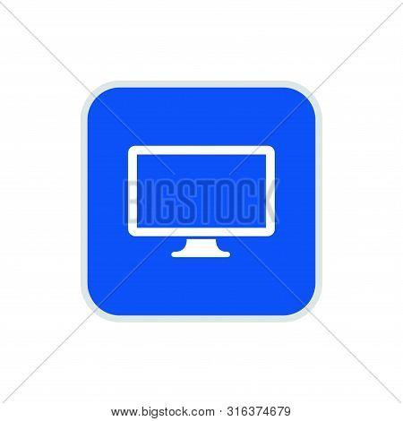 Computer Screen Icon, Computer Screen Icon Square, Computer Screen Icon Square Round, Computer Scree