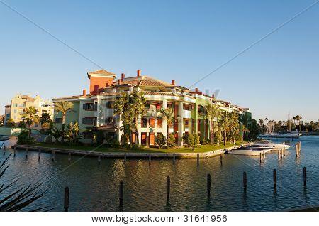 Sotogrande marina and urbanisation