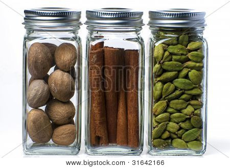 Three Bottles Of Spices