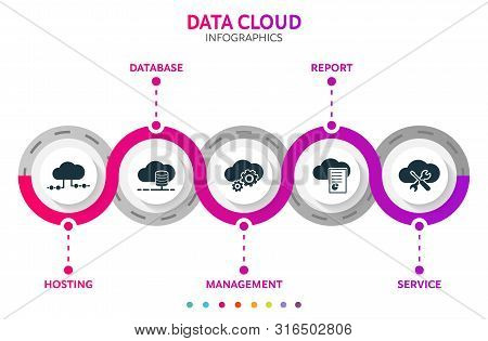 Cloud Data Abstract Vector & Photo (Free Trial) | Bigstock