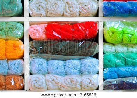 Colorful Shelving