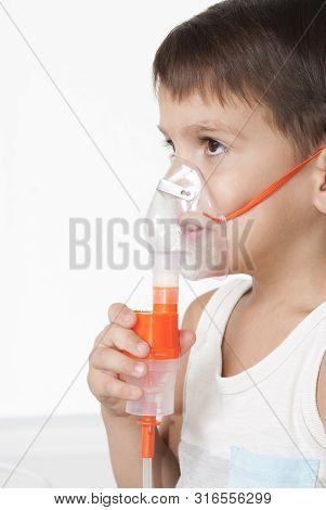 Boy And Inhaler