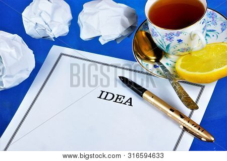 An idea is an unexpected thought, a concept generalizing experience reflecting the attitude to reality. Idea-the main idea the General principle of the theory or invention, an essential part of the plan. poster