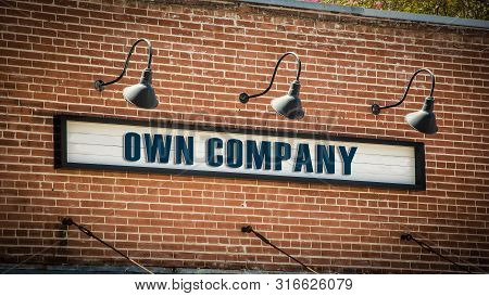 Street Sign Own Company